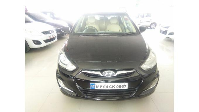Used 2012 Hyundai Verna Car In Raisen