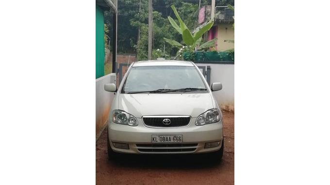 Used 2004 Toyota Corolla Car In Thrissur