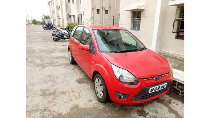 Used 2010 Ford Figo Car In Hyderabad