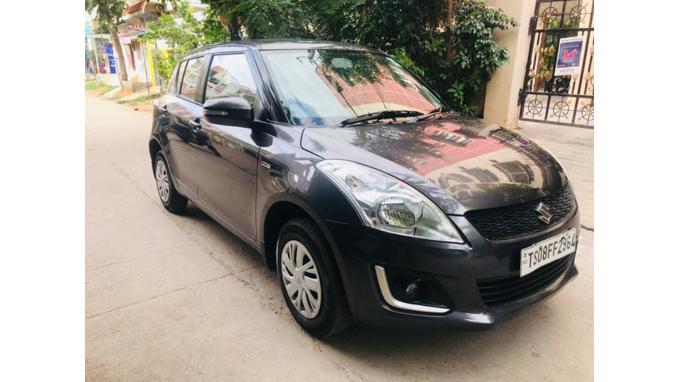 Used 2017 Maruti Suzuki Swift Car In Hyderabad