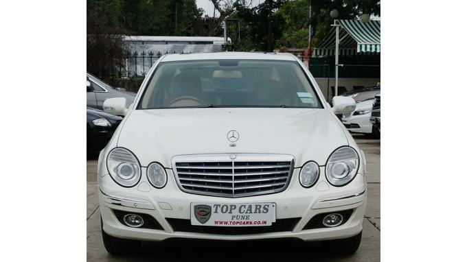Used 2009 Mercedes Benz E Class Car In Pune