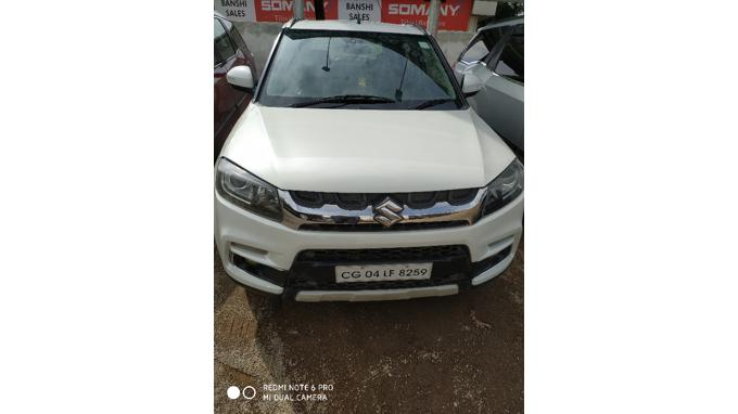 Used 2016 Maruti Suzuki Vitara Brezza Car In Raipur