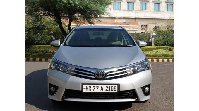 Used 2016 Toyota Corolla Altis Car In New Delhi