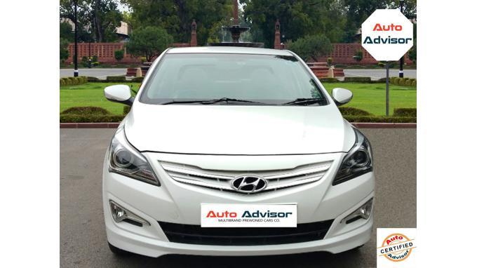 Used 2015 Hyundai Verna Car In New Delhi