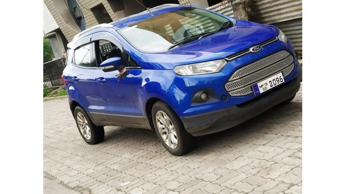 Used 2014 Ford EcoSport Car In Indore
