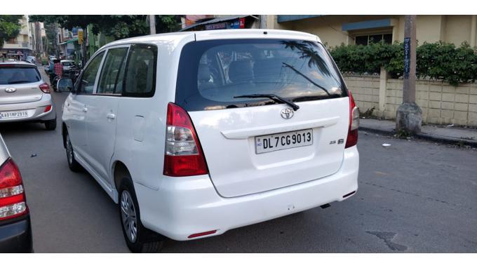 Used 2012 Toyota Innova Car In Bangalore
