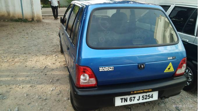 Used 2008 Maruti Suzuki 800 Car In Coimbatore