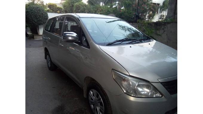 Used 2012 Toyota Innova Car In Hyderabad