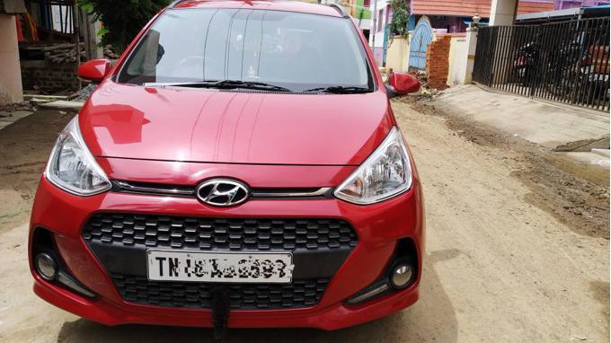 Used 2017 Hyundai Grand i10 Car In Chennai