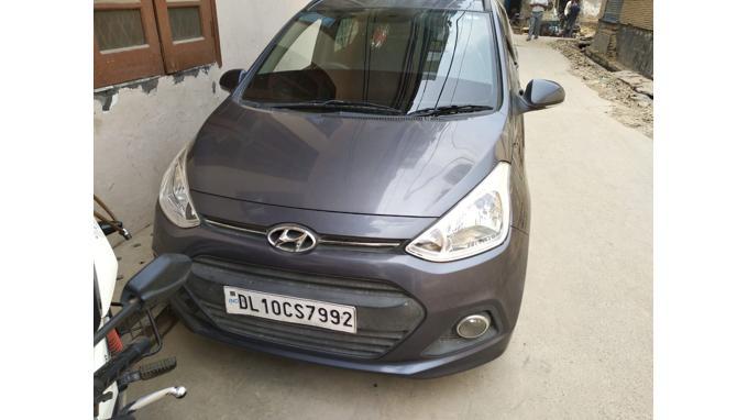 Used 2015 Hyundai Grand i10 Car In New Delhi