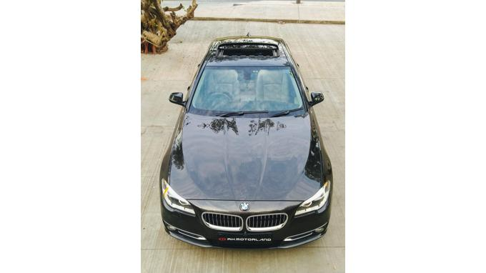 Used 2016 BMW 5 Series Car In Ahmedabad