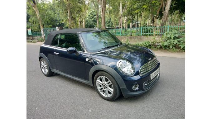 Used 2013 Mini Convertible Car In New Delhi