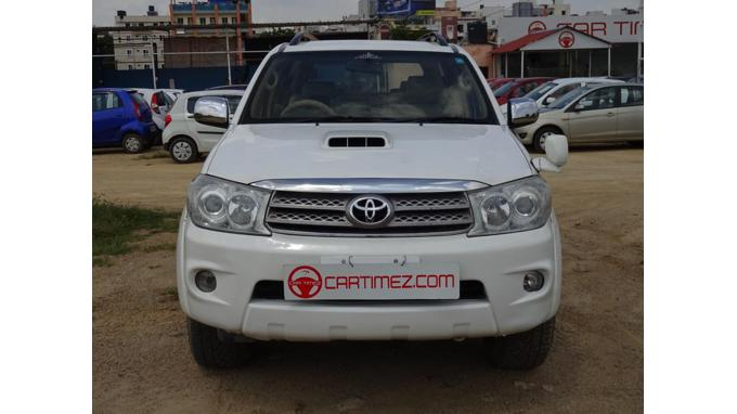 Used 2010 Toyota Fortuner Car In Hyderabad