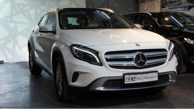 Used 2015 Mercedes Benz GLA Class Car In Faridabad