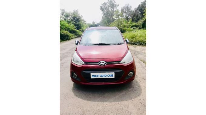 Used 2014 Hyundai Grand i10 Car In Jalgaon