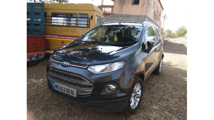Used 2014 Ford EcoSport Car In Navi Mumbai