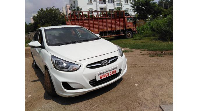 Used 2012 Hyundai Verna Car In Hyderabad