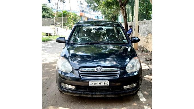 Used 2009 Hyundai Verna Car In Bangalore