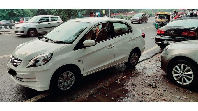 Used 2014 Honda Amaze Car In New Delhi