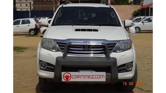 Used 2014 Toyota Fortuner Car In Hyderabad