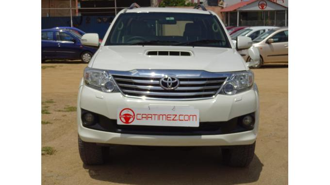 Used 2013 Toyota Fortuner Car In Hyderabad