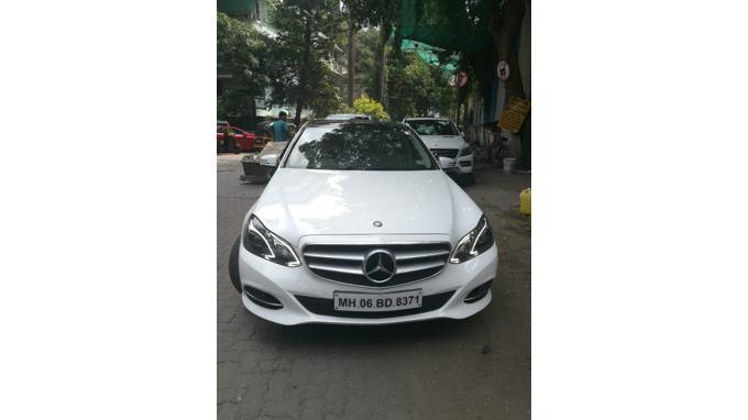 Used 2014 Mercedes Benz E Class Car In Mumbai