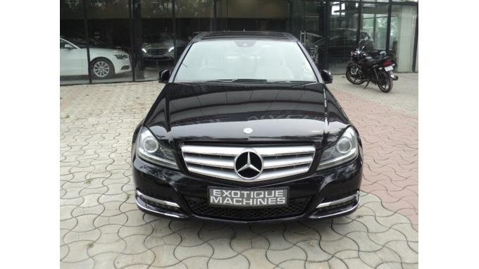 Used 2013 Mercedes Benz C Class Car In Lucknow