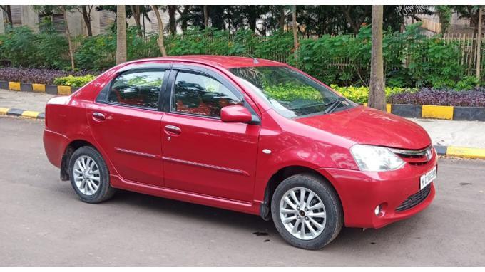 Used 2011 Toyota Etios Car In Thane
