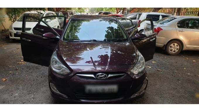 Used 2013 Hyundai Verna Car In Mumbai