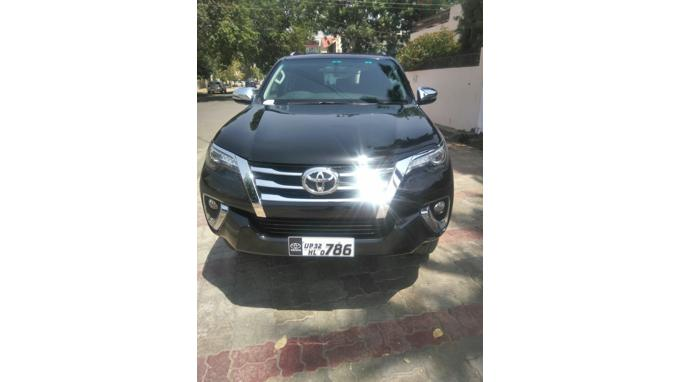 Used 2016 Toyota Fortuner Car In Lucknow