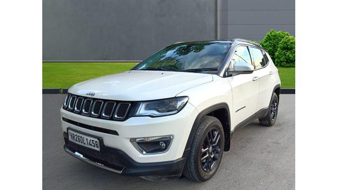 Used 2018 Jeep Compass Car In New Delhi