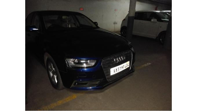 Used 2013 Audi A4 Car In Bangalore