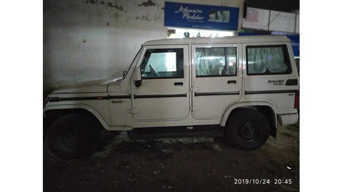 Used 2018 Mahindra Bolero Car In Bhopal