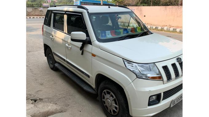 Used 2015 Mahindra TUV300 Car In New Delhi