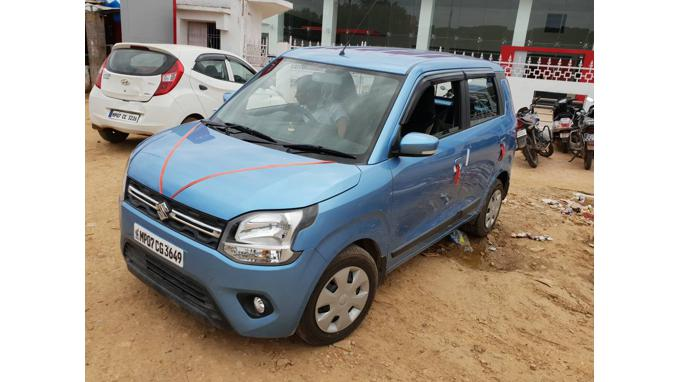 Used 2019 Maruti Suzuki Wagon R 1.0 Car In Gwalior