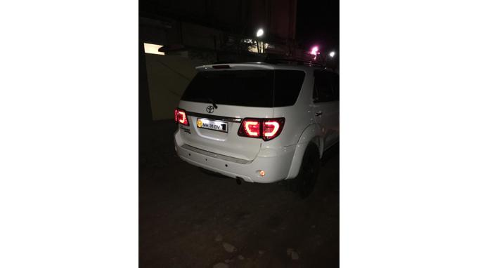 Used 2011 Toyota Fortuner Car In Nagpur