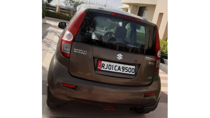 Used 2009 Maruti Suzuki Ritz Car In Ajmer
