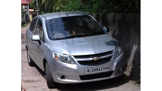 Used 2013 Chevrolet Sail Car In Trivandrum