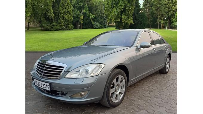 Used 2007 Mercedes Benz S Class Car In Noida
