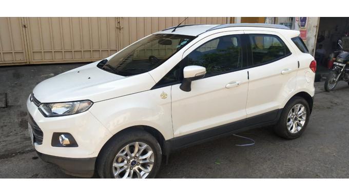 Used 2015 Ford EcoSport Car In Kota