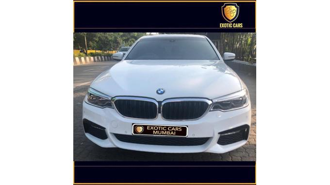 Used 2018 BMW 5 Series Car In Mumbai