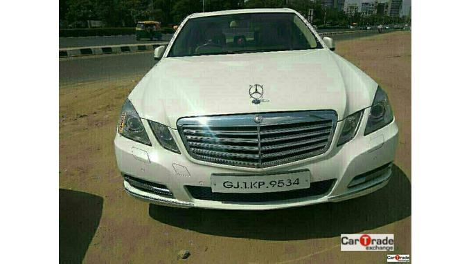 Used 2012 Mercedes Benz E Class Car In Ahmedabad
