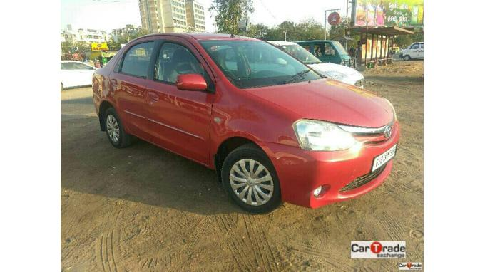 Used 2011 Toyota Etios Car In Ahmedabad
