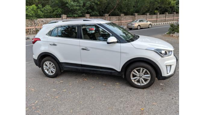 Used 2017 Hyundai Creta Car In New Delhi