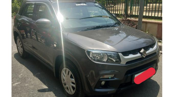 Used 2017 Maruti Suzuki Vitara Brezza Car In New Delhi
