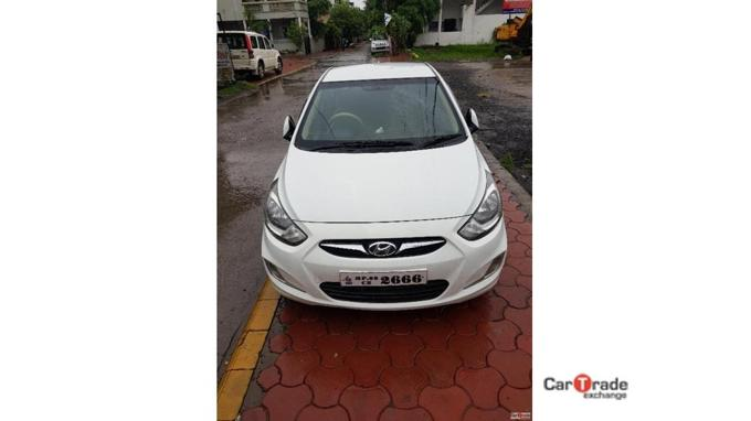 Used 2013 Hyundai Verna Car In Dhar