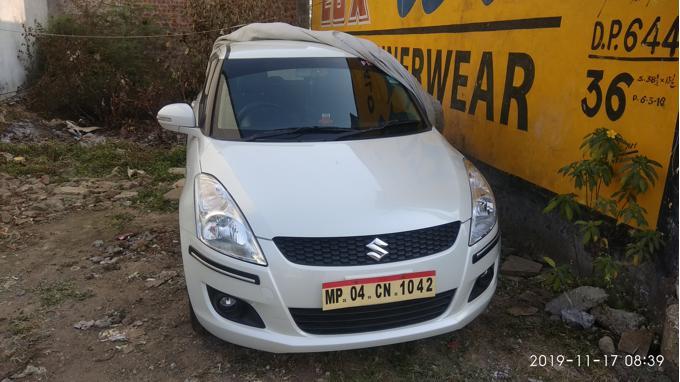 Used 2014 Maruti Suzuki Swift Car In Bhopal