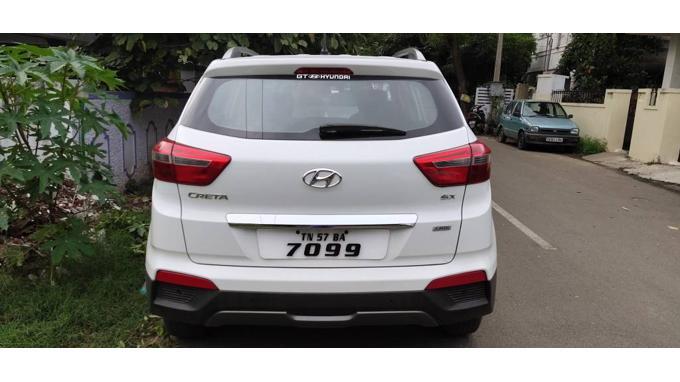 Used 2016 Hyundai Creta Car In Coimbatore