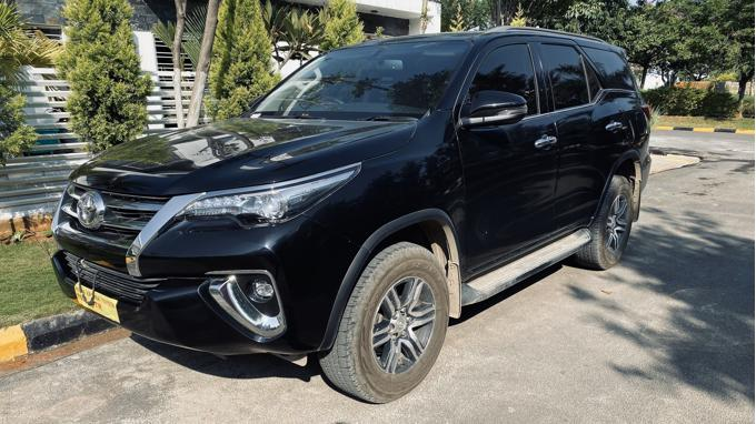 Used 2019 Toyota Fortuner Car In Hyderabad