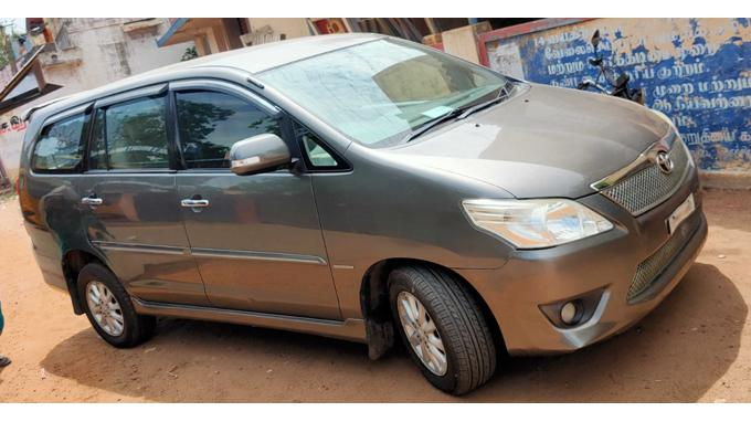 Used 2012 Toyota Innova Car In Trichy